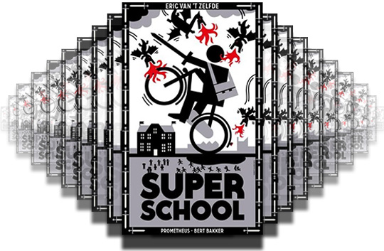 Gratis een gesigneerd exemplaar van Superschool voor nieuwe scholen